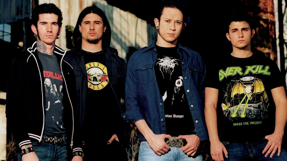 Trivium 2005 press shot