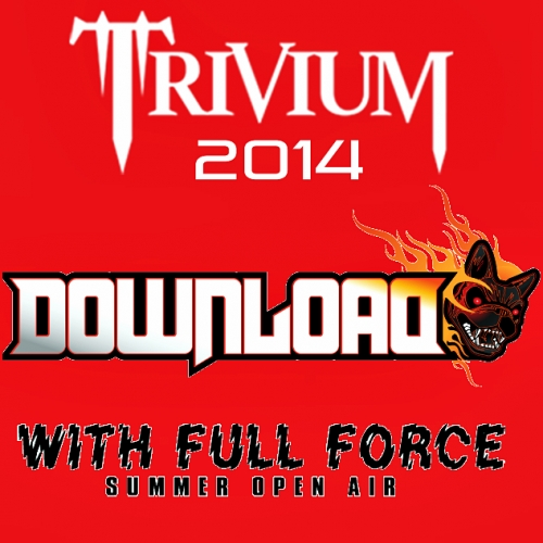 Trivium participará en los festivales Download & With Full Force en 2014
