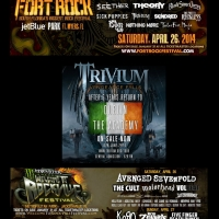 Trivium en los festivales Fort Rock & Welcome to Rockville / Regreso a Irlanda