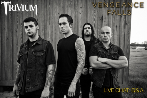 "Trivium Live Chat: ""Vengeance Falls"" Q&A [video & traducción]"