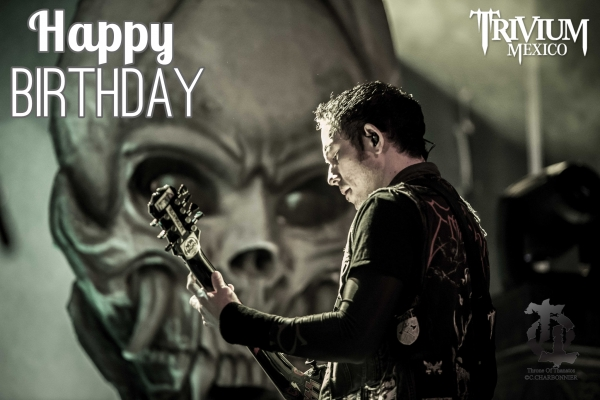 Happy Birthday, Matt Heafy!