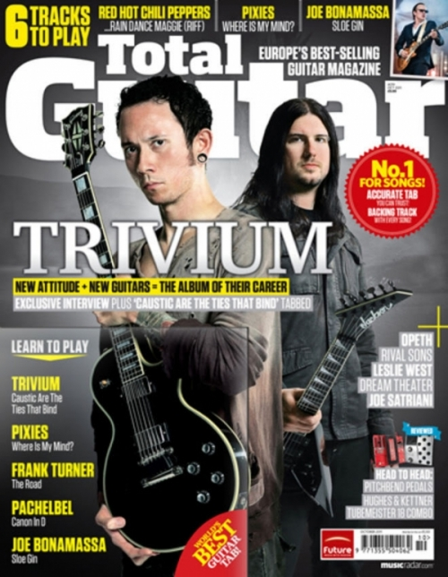 Total Guitar: Matt Heafy & Corey Beaulieu [scans] (pt.2)