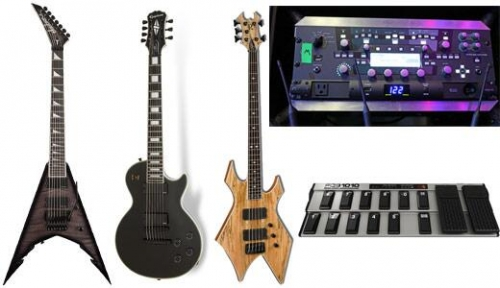 Rig Rundown: Trivium (el equipo que utilizan en sus shows vivo)