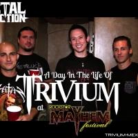 [video] Un Día en la Vida de Trivium en el Mayhem Fest