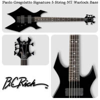 Paolo Gregoletto Signature 5 String NT Warlock Bass