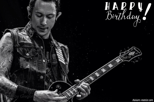 Happy Birthday, Matt Heafy! / ¡Feliz cumpleaños, Matt Heafy!
