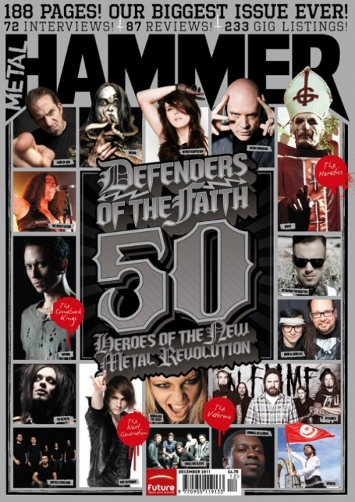 "Metal Hammer - Trivium: ""Defenders Of The Faith"" [scan]"