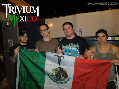 Trivium México en los shows de Trivium en Austin y Dallas, Texas [fotos & videos]