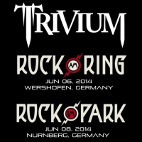 Trivium en los festivales Rock am Ring & Rock im Park 2014