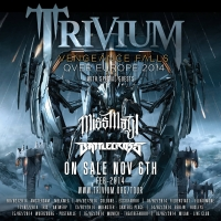 Trivium: Vengeance Falls Over Europe 2014 [anuncio de tour]