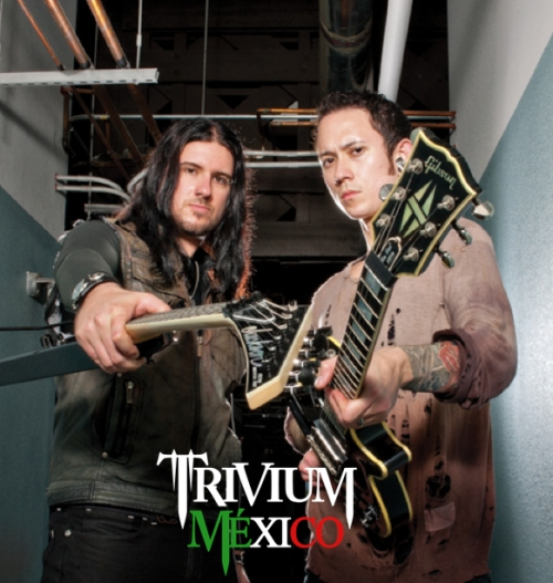 Trivium en Guitar World magazine [scans]
