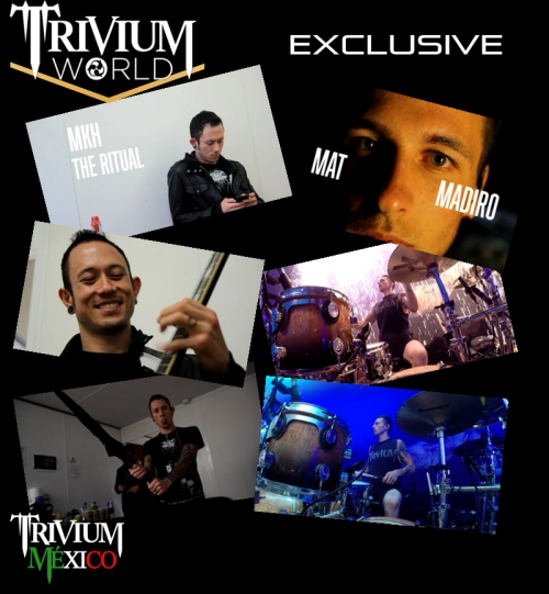 Nuevos videos exclusivos en Triviumworld: Matt Heafy & Mat Madiro