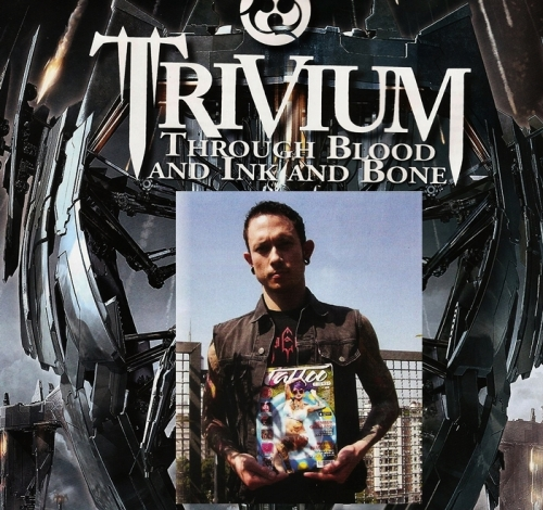 Through Blood and Ink and Bone: Matt habla sobre tatuajes, Trivium y más